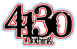 4130 Sticker - Medium (Black) - 131220029