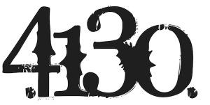 "4130 Logo, 24"" wide - 131220007"