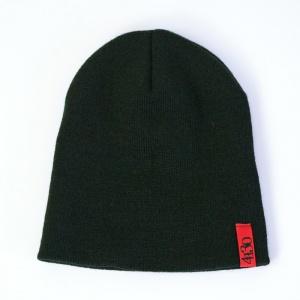 Built Stronger Beanie (Black) - 131160001-9 - Hats - Accessories