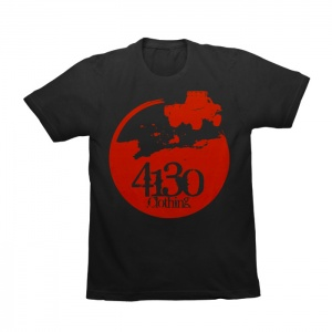 Youth Prerunner Tee (Black/Red) - 131060001