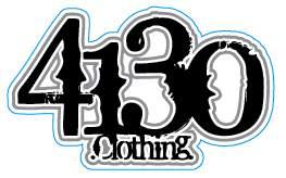 4130 Sticker - Medium (White) - 131220028