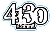 4130 Sticker - Small (White) - 131220031