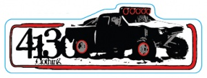 4130 Trophy Truck Sticker - 131220033