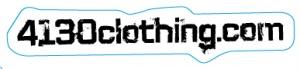 4130clothing.com Sticker - Large (Black) - 131220034