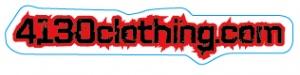 4130clothing.com Sticker - Small (Red) - 131220035