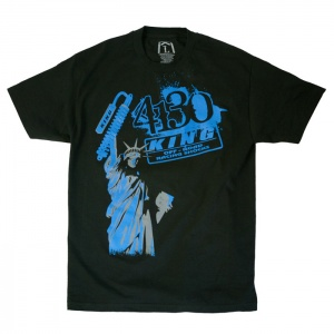 4130/King Lady Liberty Tee (Black/Blue) - 131020001