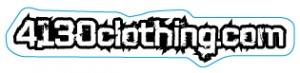 4130clothing.com Sticker - Small (White) - 131220036
