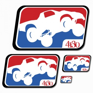 League Sticker Large 8 inch - 131220046 - Accessories