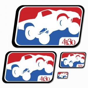 League Sticker Small 3 inch - 131220048