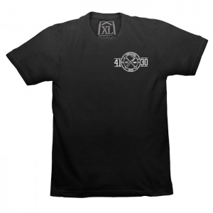 Fabricators Union Tee (Black/White) - 131020027