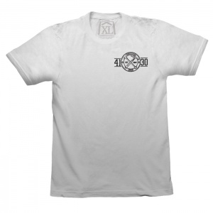 Fabricators Union Tee (White/Black) - 131020028