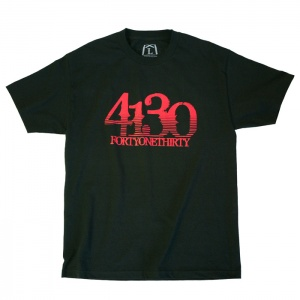 Grooved Tee (Black/Red) - 131020003